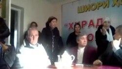 Женщины сорвали брифинг таджикской оппозиции