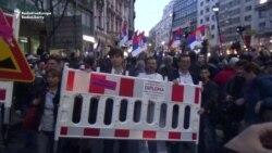Serbian Antigovernment Protests Enter 18th Week