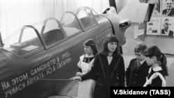 Самолет, на котором в 1955 году учился летать Ю.А. Гагарин