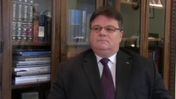 Інтерв'ю Радіо Свобода міністра закордонних справ Литви Лінаса Лінкявічуса