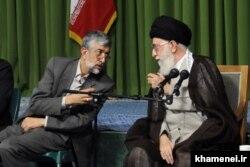 غلامعلی حداد عادل در دیدار با علی خامنهای