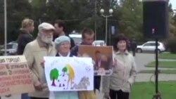 Митинг за отставку Петрозаводского городского Совета
