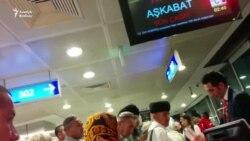 Türkmenistanly hajylar Saud Arabystanyndan dolanyp geldiler