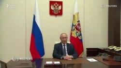 Путин дастур дод, ки карантини Русия то охири моҳ тамдид ёбад