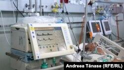 Numărul pacienților de la ATI a depășit capacitatea normală a spitalelor