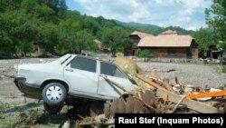 Consecințele inundațiilor la Ocoliș, județul Alba