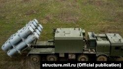 Российские береговые ракетные комплексы в Крыму, архивное фото