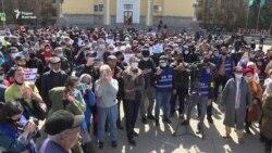 Антикитайский митинг в Алматы: задержания, блокировка Сети