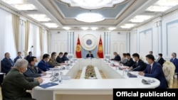 Заседание Совета безопасности. 1 сентября 2020 года.