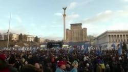 Protest la Kiev împotriva unei politici împăciuitoare în relația cu Rusia