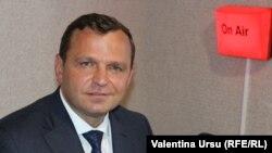 Andrei Năstase, liderul Platformei DA și candidat în alegerile prezidențiale din 1 noiembrie 2020, Chișinău, 12 octombrie 2020
