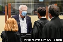 Jovica Stanisic appears in The Hague on June 30.