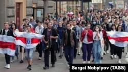 Протесты в Минске, 1 сентября 2020 год