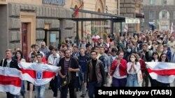 Минск, студенческий марш 1 сентября