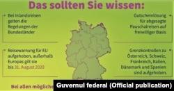 Coronainformaţii ale guvernului de la Berlin