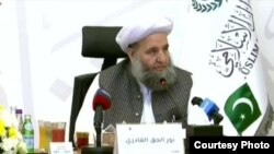 نورالحق قادری در کنفرانس علمای افغانستان و پاکستان در عربستان سعودی