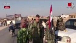 Suriya Türkiyə ordusunun girdiyi ərazilərə dogru ordu yeridir