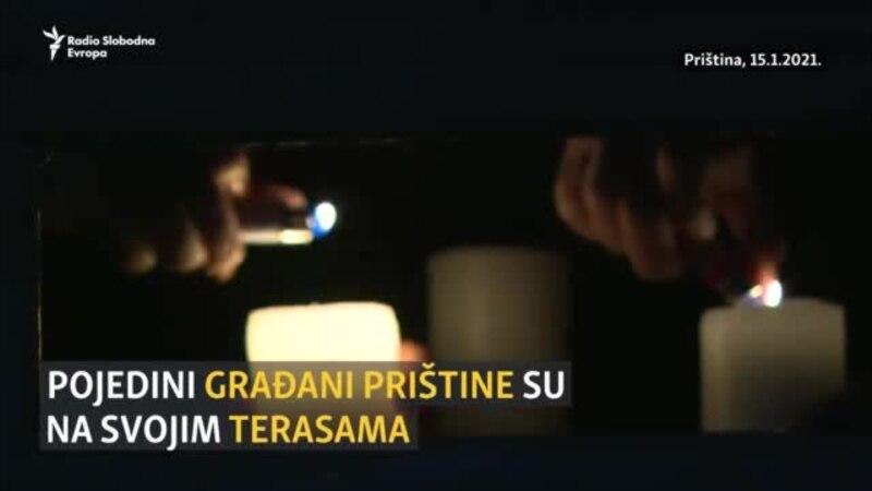 Paljenje sveća za ubijene tokom rata na Kosovu