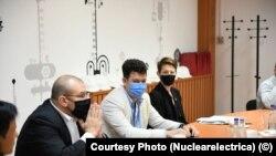 România, Secretarul adjunct pentru Energie Nucleară din Departamentul pentru Energie al SUA, dr Kathryn Huff (dreapta) și David Muniz (stânga), însărcinatul pentru afaceri al SUA au vizitat vineri Centrala Nucleară de la Cernavodă. CEO Nuclearelectrica - Cosmi Ghiță (centru).