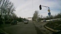 ДТП участием автомашины посольства России в КР
