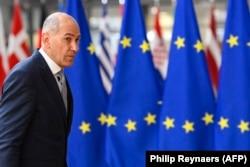 Janša érkezik az uniós csúcsra