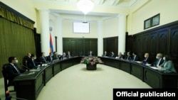 Armenia-Government session took place,22April,2021
