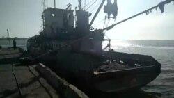 Українські прикордонники затримали судно-порушник під прапором Росії