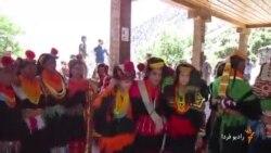 رقص بهاری اقلیت هندو ایرانیِ پاکستان در ارتفاعات هندوکش