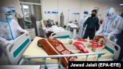 افغان جاپان روغتون کې په کرونا ویروس اخته کس مړی شوی.