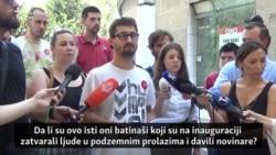 Organizatori protesta i Vučić o incidentu