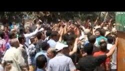 مواجهات ميدان رمسيس ومسجد الفتح