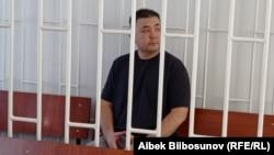 Мелис Аспеков. Биринчи май райондук сотунда. 21-май, 2021-жыл.