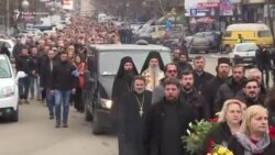 Sugrađani se oprostili od Olivera Ivanovića