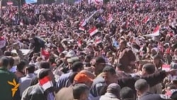 Egyptians Hold 'Victory March'