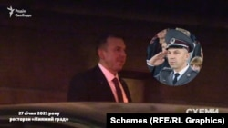 Услід за ними заклад залишив ще один чоловік – начальник УДО генерал-майор Сергій Рудь