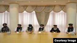 "Мулла Абдул Гани Барадар баштаган ""Талибан"" делегациясы Ашхабадда. 2021-жыл, 6-февраль"