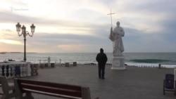 Севастополь: Первозванный цел, набережная – разбита (видео)