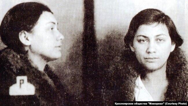 Генриетта Рубинштейн. Тюремное фото. 1937 год