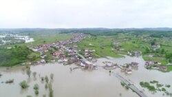 Боснійські села затопила повінь – відео з дрону