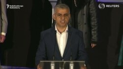 London's First Muslim Mayor Thanks Supporters