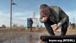 Відкриття артезіанської свердловини у селі Новосільське, Чорноморський район, Крим, осінь 2019 року