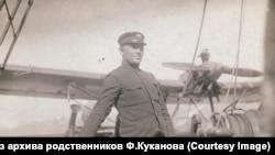 Куканов на борту ледореза Литке, 1934 год