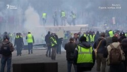 """Из Донбасса к """"желтым жилетам"""". Наемники в числе протестующих в Париже"""