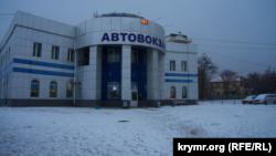 Перший сніг у Сімферополі