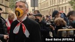 Képgaléria: ismert művészek is megjelentek az SZFE-tüntetésen