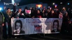 Метежи и апсења на протестите во Бања Лука
