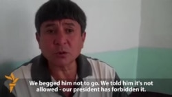 'We Begged Him Not To Go,' Says Father Of Tajik Jihadist