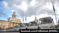 Мусофиркашщои ISUZU дар Бишкек.