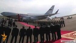 Մեդվեդևը ժամանեց Երևան
