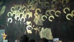 Прочистените фрески во црквата Св.Димитрија